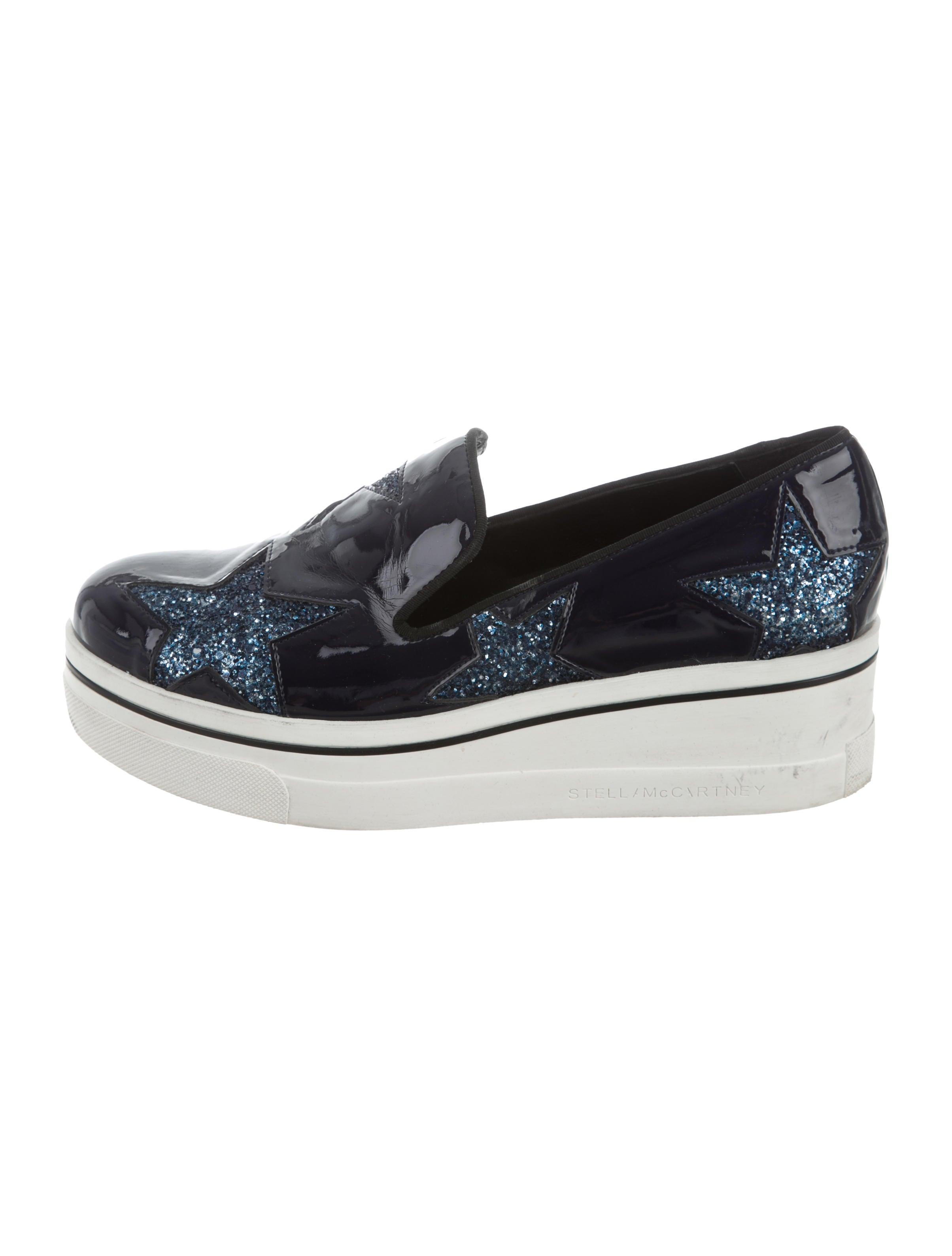 stella mccartney platform slip on sneakers shoes