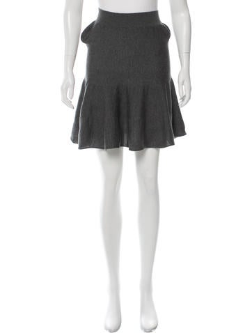 Stella McCartney Wool Mini Skirt None
