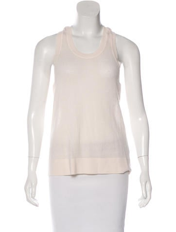 Stella McCartney Wool Sleeveless Top None