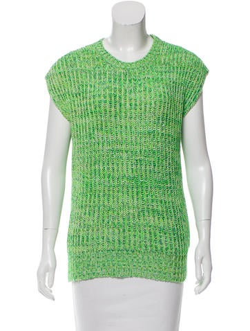 Stella McCartney Oversize Sleeveless Sweater None
