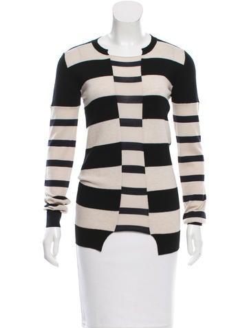 Stella McCartney Striped Virgin Wool Sweater None