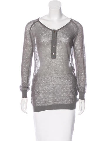 Stella McCartney Knit Wool Top None