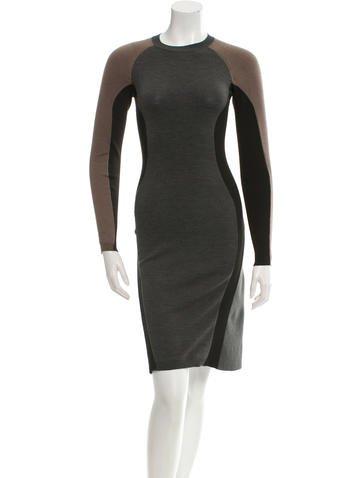 Stella McCartney Long Sleeve Knit Dress None