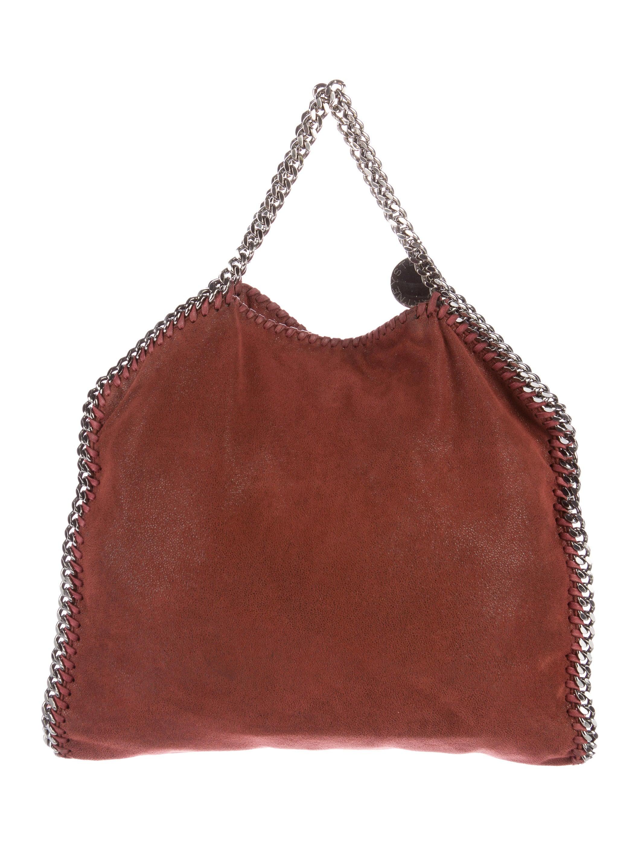 stella mccartney falabella fold over tote handbags stl49303 the realreal. Black Bedroom Furniture Sets. Home Design Ideas