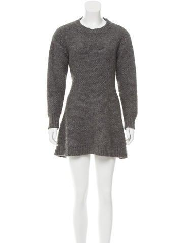 Stella McCartney Alpaca Sweater Dress None