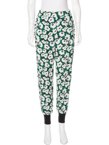 Stella McCartney Margarita Floral Print Pants None