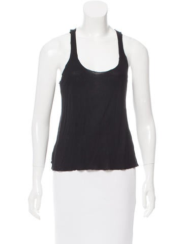 Stella McCartney Sleeveless Racerback Top None