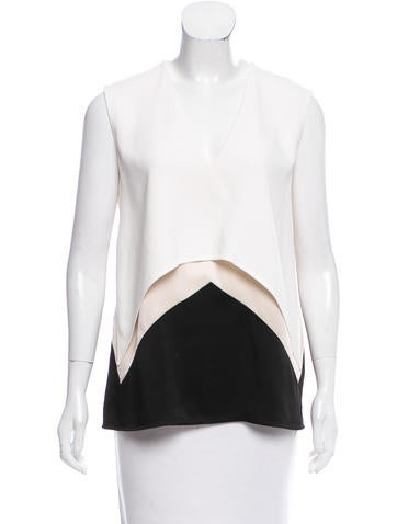 Stella McCartney Layered Colorblock Top w/ Tags None