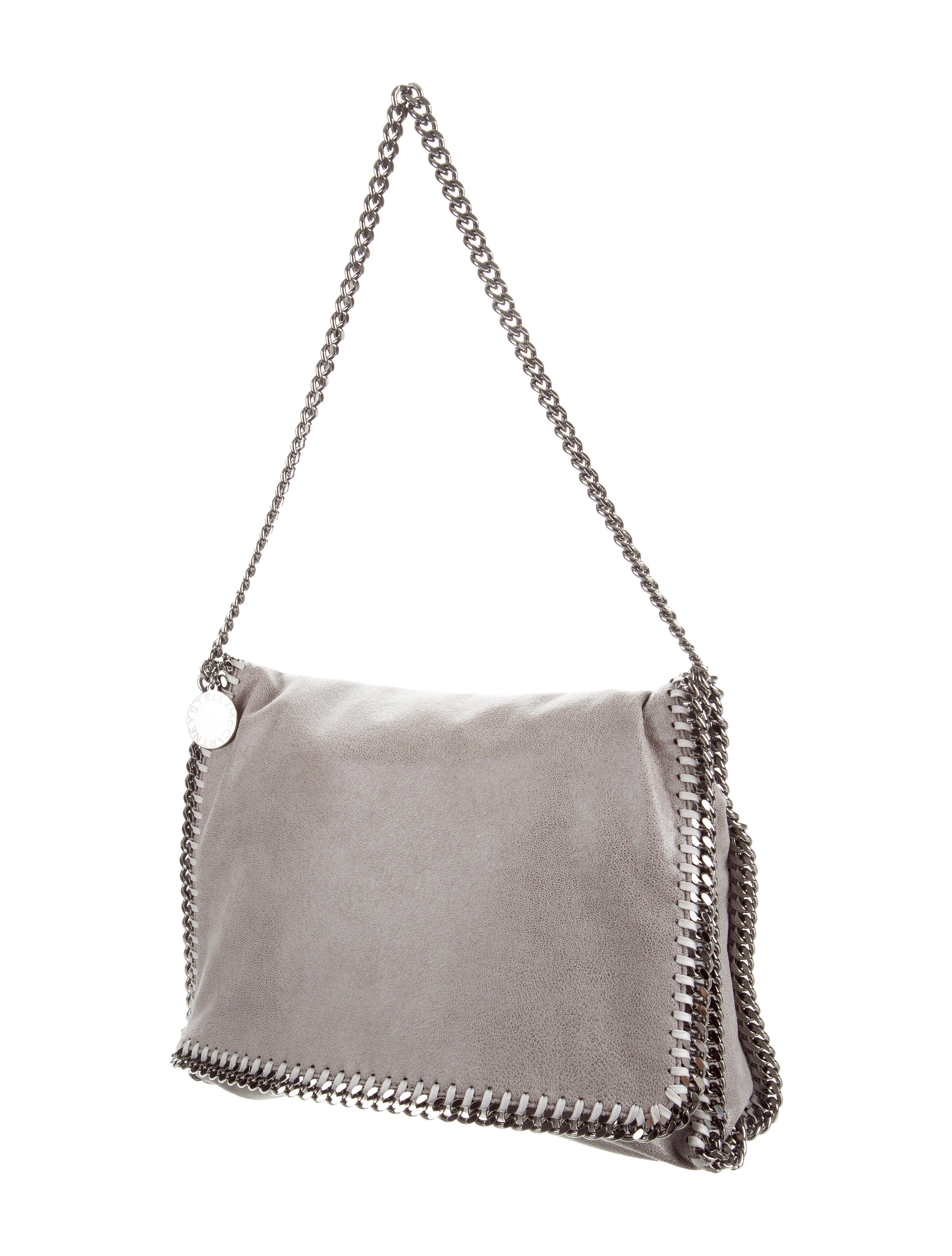 stella mccartney falabella flap bag handbags stl51913 the realreal. Black Bedroom Furniture Sets. Home Design Ideas