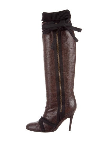 stella mccartney vegan leather thigh high boots shoes