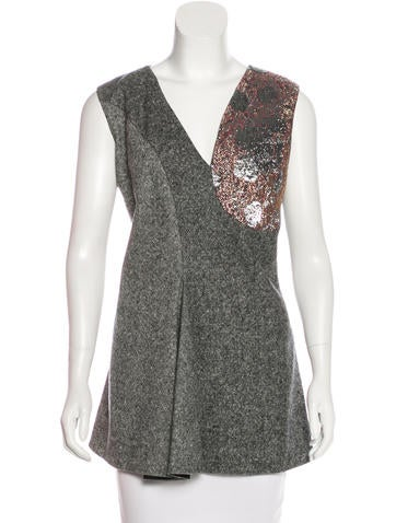 Stella McCartney 2015 Brocade & Tweed Tunic w/ Tags None