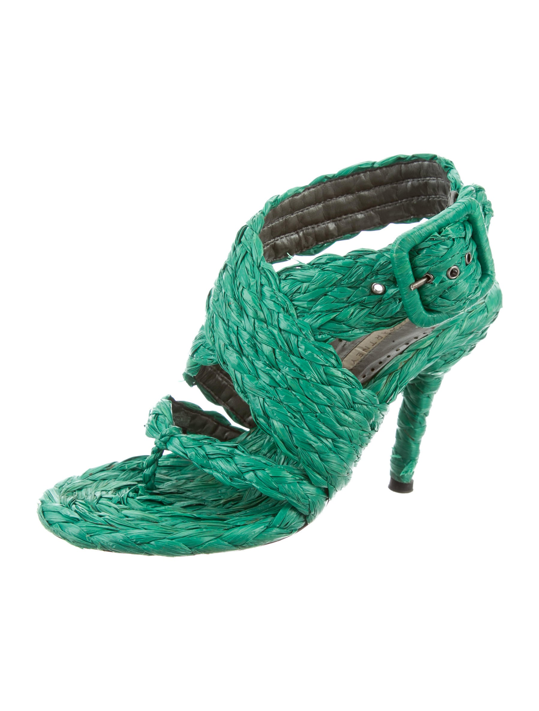 Stella McCartney Woven Straw Sandals clearance lowest price 2015 new online Manchester cheap online S0A0S9