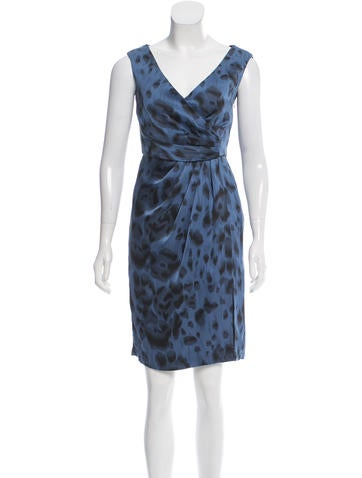 Stella McCartney Printed Silk Dress None
