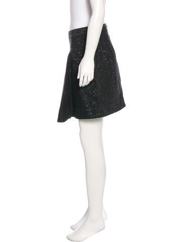 stella mccartney denim mini skirt clothing stl52529