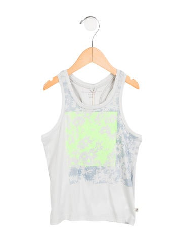 Stella McCartney Girls' Sleeveless Printed Top w/ Tags None