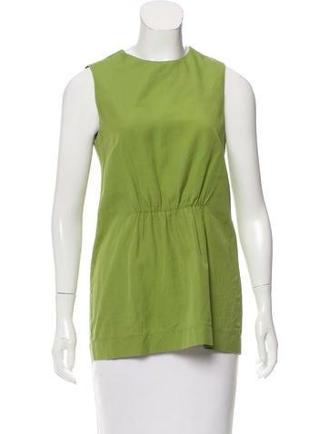 Stella McCartney Sleeveless Textured Knit Top None