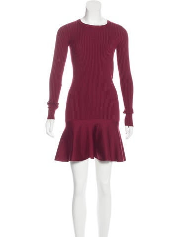 Stella McCartney Wool & Silk-Blend Knit Dress w/ Tags None