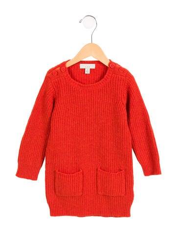 Stella McCartney Girls' Alpaca-Blend Sweater Dress None