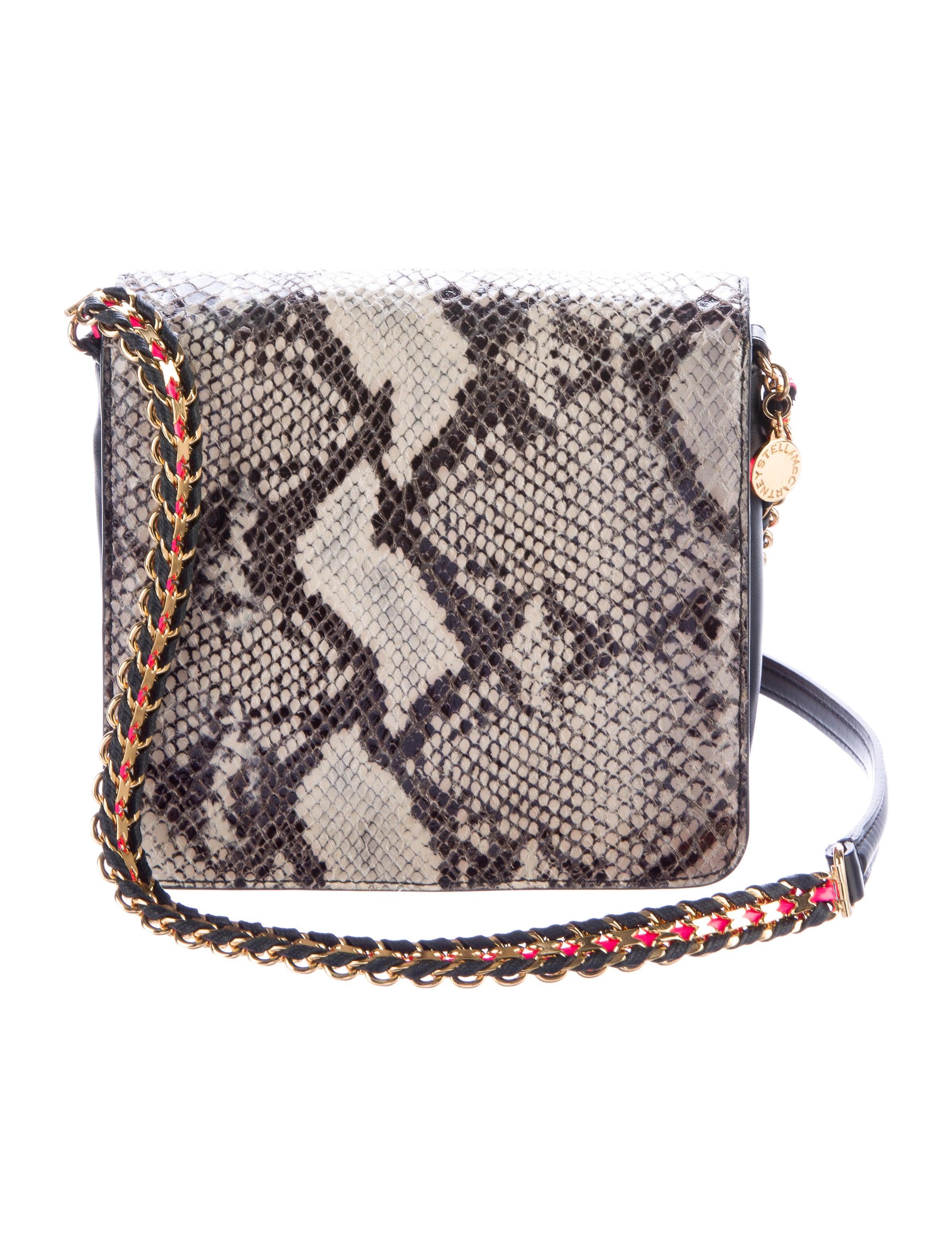 Stella Mccartney Alter Snake Crossbody Bag Handbags