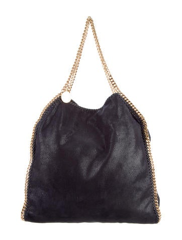 Stella McCartney Large Falabella Shaggy Deer Tote None