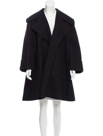 Stella McCartney Oversize Cashmere-Blend Coat w/ Tags None