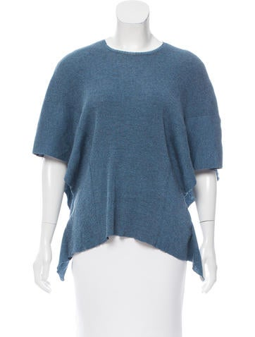 Stella McCartney Rib Knit Oversize Sweater None