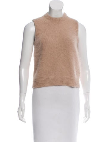 Stella McCartney Sleeveless Angora Top None