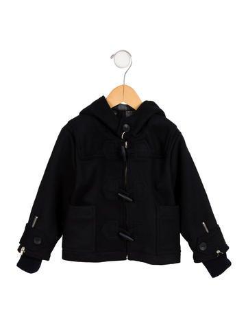 Stella McCartney Girls' Hooded Wool Coat w/ Tags None
