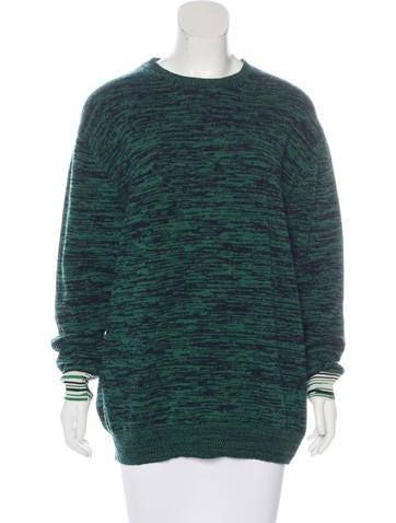 Stella McCartney Wool Intarsia Sweater w/ Tags None