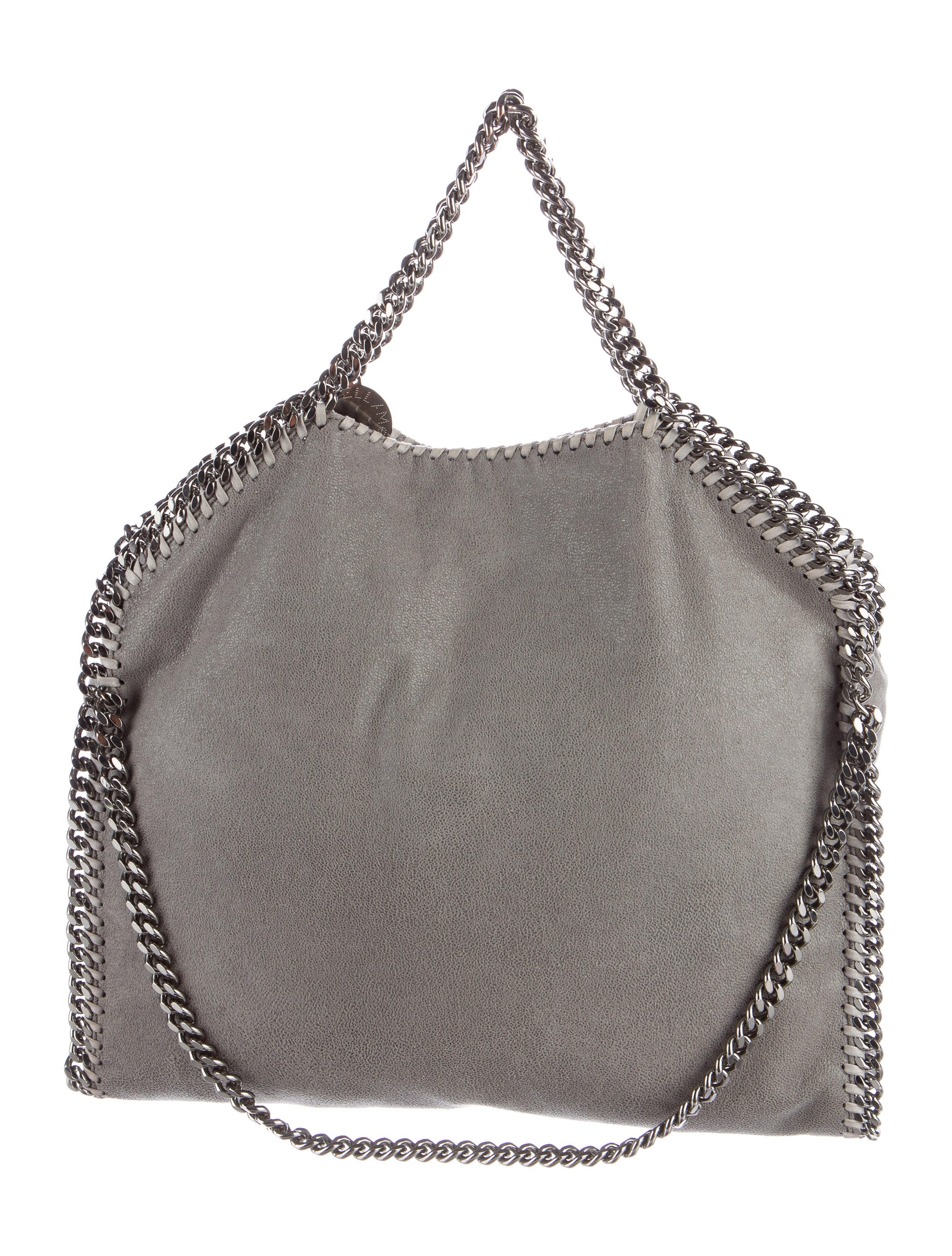 stella mccartney falabella shaggy deer tote handbags stl53758 the realreal. Black Bedroom Furniture Sets. Home Design Ideas