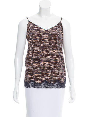 Stella McCartney Sleeveless Silk Top w/ Tags None