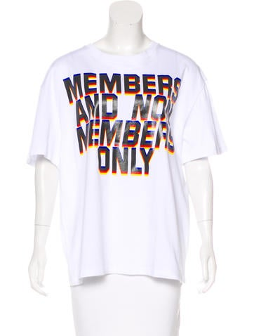 Stella McCartney Graphic Print Short Sleeve T-Shirt w/ Tags None