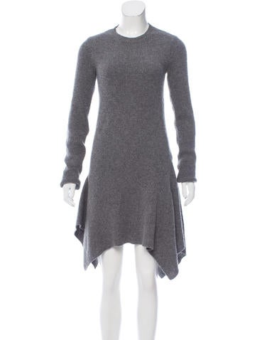 Stella McCartney Rib Knit Wool Dress None