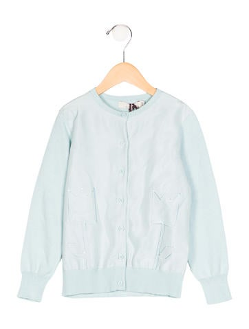 Stella McCartney Girls' Spring 2017 Portia Cardigan w/ Tags None