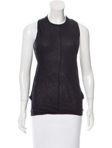 Stella McCartney Sleeveless Draped Top None