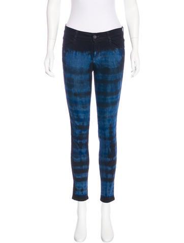 Stella McCartney Skinny Mid-Rise jeans None