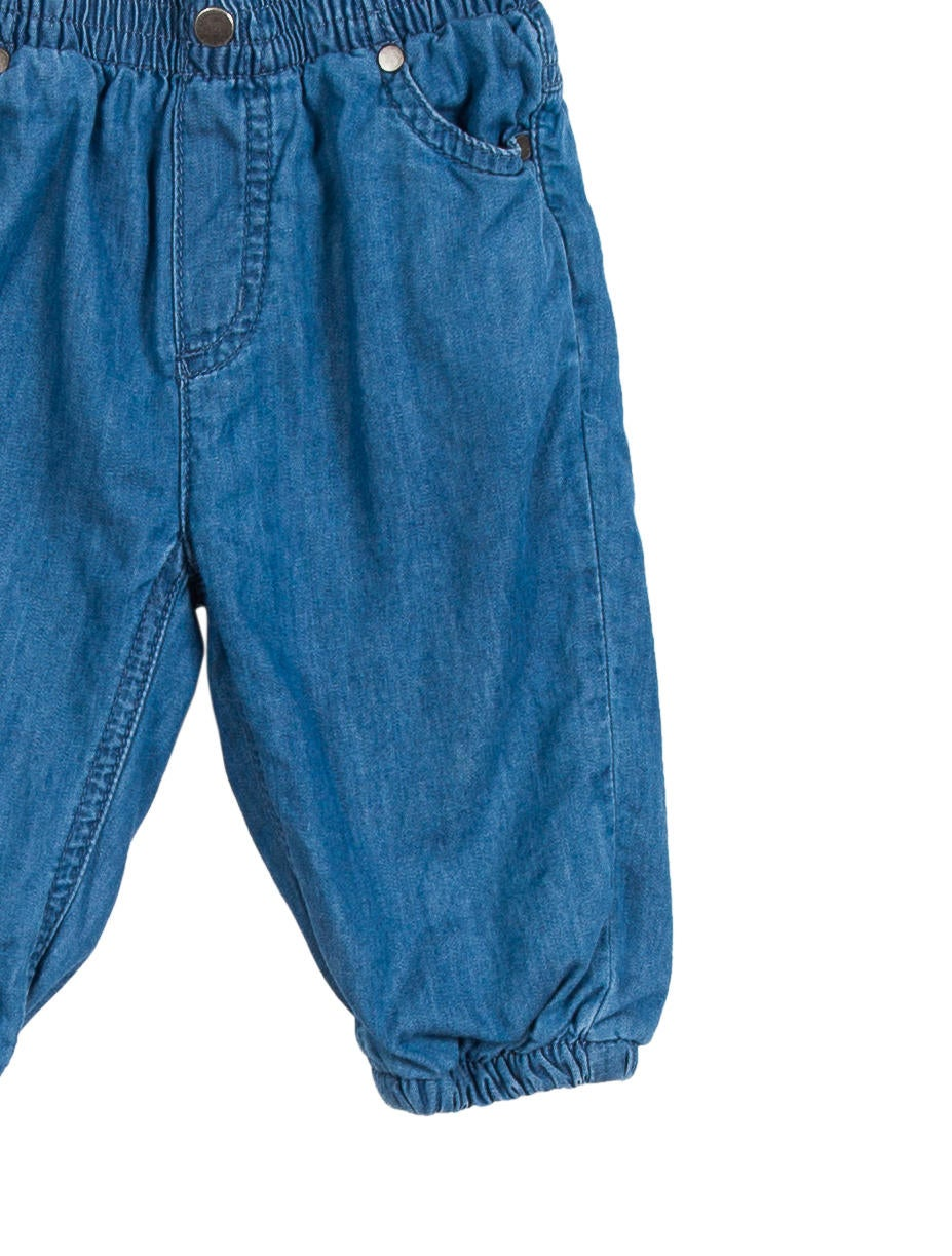 Chambray Boys Pants. By Classic Whimsy Size Chart $ Elastic waist boy pants. Perfect for the fall! Wear with the applique pumpkin t-shirt for a staple look! Review to Earn Reward Points.