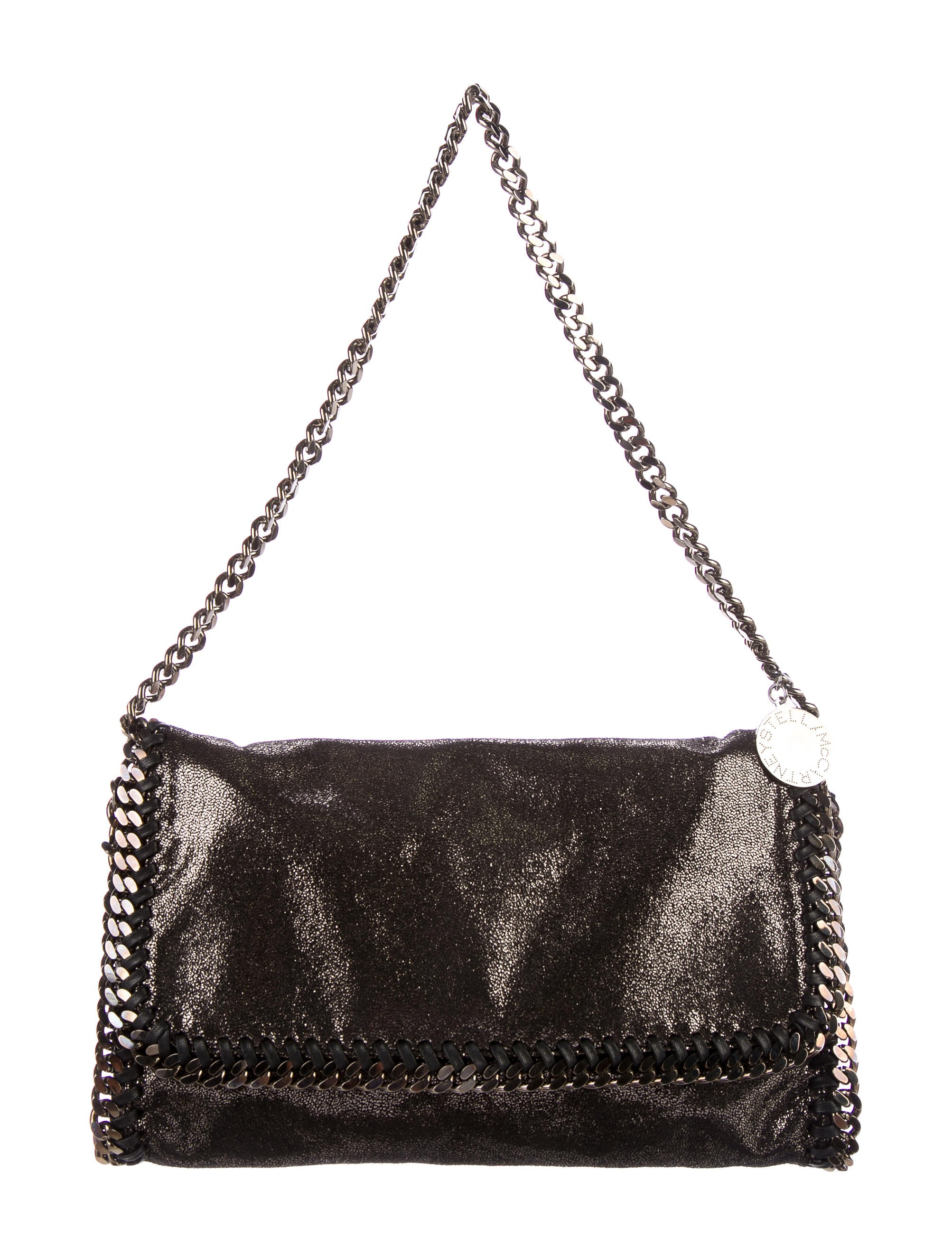 stella mccartney falabella shoulder bag handbags stl54945 the realreal. Black Bedroom Furniture Sets. Home Design Ideas