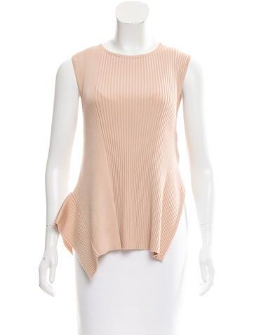 Stella McCartney Sleeveless Knit Top None