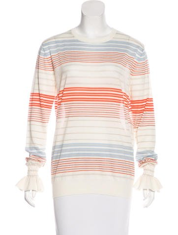 Stella McCartney Wool Striped Sweater None