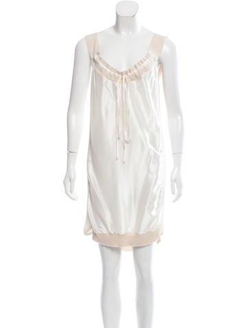 Stella McCartney Silk Sleeveless Dress None