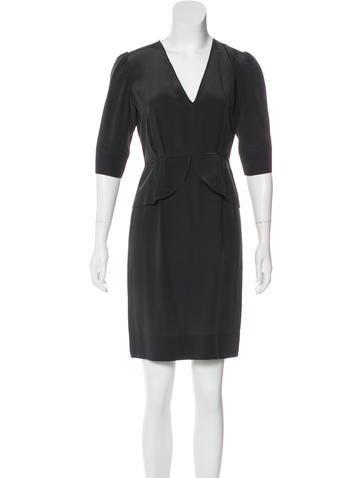 Stella McCartney Silk Shift Dress None
