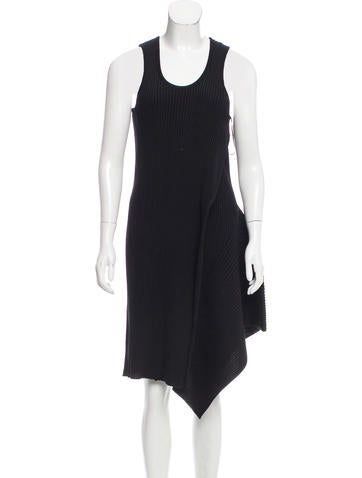 Stella McCartney Rib Knit Sleeveless Dress None