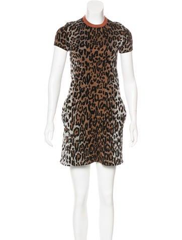 Stella McCartney 2016 Leopard Patterned Dress w/ Tags None