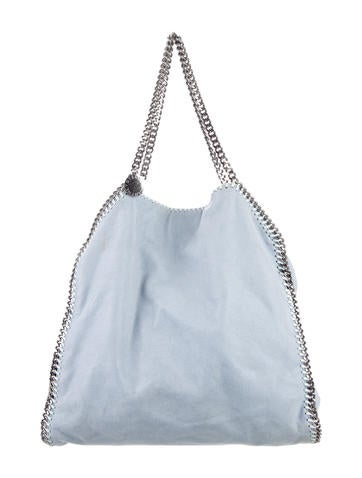 Stella McCartney Shaggy Deer Falabella Large Tote None