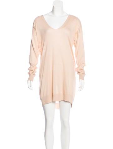 Stella McCartney Long Sleeve Sweater Dress None