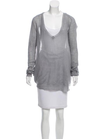 Stella McCartney Long Sleeve Cashmere Top None