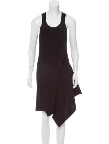 Stella McCartney Asymmetrical Ribbed Dress w/ Tags None