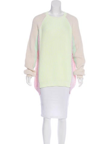 Stella McCartney Colorblock Knit Sweater None