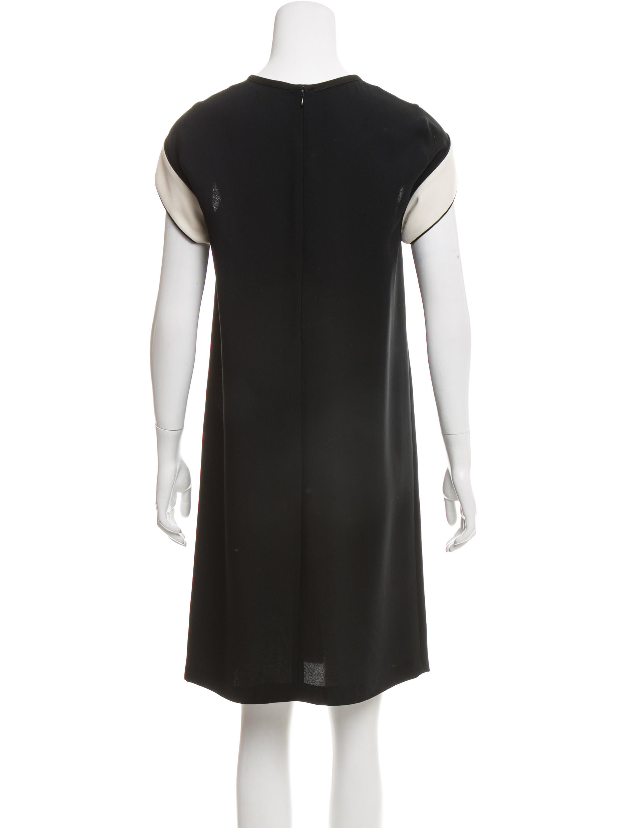 stella mccartney kneelength shift dress clothing
